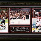 TEAM CANADA Framed, 8x10 Photos, 2010 Olympics, CHAMPIONSHIP COLLAGE