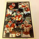 NFL GRBAC, RISON+ MINI POSTER, 4 X 6 INCHES, FOOTBALL, KANSAS CITY CHIEFS, NEW