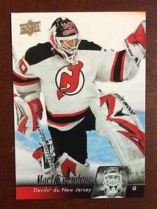 NHL MARTIN BRODEUR 2010-11 UPPER DECK SERIES 1 CARD #84, NEW, NM-MINT