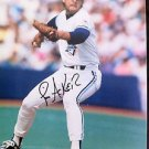MLB JIM ACKER AUTOGRAPHED 8X10 PHOTO TORONTO BLUE JAYS, 1991, NR
