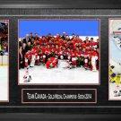 TEAM CANADA Framed, 8x10 Photos, 2014 Olympics, Gold Medal Champions