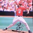 MLB PAT HENTGEN AUTOGRAPHED 8X10 PHOTO TORONTO BLUE JAYS 1996 CANADA DAY CY YNG