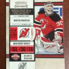 NHL MARTIN BRODEUR 2010-11 PANINI PLAYOFF CONTENDERS CARD #71, NEW, NM-MINT
