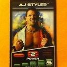 TNA WRESTLING, AJ STYLES PROMO CARD, LOT OF 10, NR, NEW, TNA,WWE,WWF