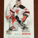 NHL MARTIN BRODEUR 2009-10 UPPER DECK SP AUTHENTIC CARD #30, NEW, NM-MINT