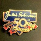 MLB JACKIE ROBINSON 50TH ANNIVERSARY LAPEL PIN, 1997 NEW, NR
