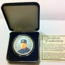 1997 CY YOUNG SILVER COIN - ROGER CLEMENS - PROOF, MLB, BASEBALL, BLUE JAYS,NR
