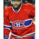 NHL PK Subban Montreal Canadiens 14x28 Art Canvas