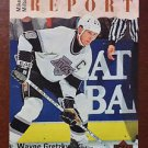 NHL WAYNE GRETZKY 1995-96 UPPER DECK, SCOUTING REPORT, CARD #252, NEW, NM-MINT