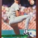 MLB RANDY JOHNSON FLEER ULTRA #269 BASEBALL CARD 1993 SEATTLE MARINERS NM-MINT