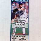 TORONTO BLUE JAYS, ROGER CLEMENS 18K GAME FULL TICKET, AUGUST 25, 1998, CY YOUNG
