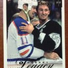 NHL WAYNE GRETZKY 1999-00 UPPER DECK VICTORY, HOCKEY LEGACY, CARD #415, NM-MINT