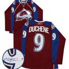 NHL Matt Duchene Autographed Colorado Avalanche Burgundy Replica Jersey