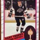 NHL WAYNE GRETZKY 1989-90 O-PEE-CHEE, HART TROPHY, CARD #320, ENG/FRN, NM-MINT