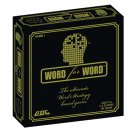 WORD FOR WORD BOARD GAME, EDUCATIONAL, FUN, NEW