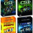 CSI PLAYING CARDS 4-PACK (3 SHOWS), CBS, CSI MIAMI, NY, LAS VEGAS, NIB