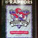 TORONTO RAPTORS INAUGRAL SEASON,1995-96 OPENING NIGHT PROGRAM,NBA,CORPORATE SEAL