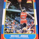 MICHAEL JORDAN, ROOKIE CARD #57, FLEER REPRINT, NBA, CHICAGO BULLS, MINT, NEW