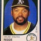 MLB REGGIE JACKSON,PANINI #175 STICKER,BASEBALL 1988,OAKLAND ATHLETICS MINT