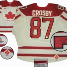 TEAM CANADA Sidney Crosby Autographed 2010 Olympics White Game Model Jersey