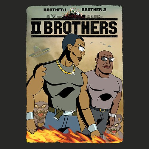 Rick and Morty -TWO BROTHERS!! t-shirt