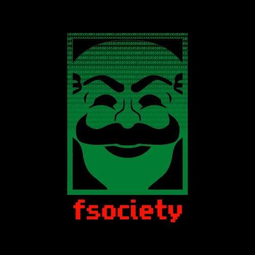 Fsociety in binary - t-shirt!
