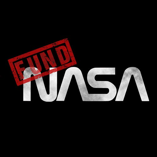 Fund NASA t-shirt!!