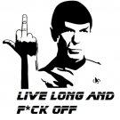 Mr. Spock F*ck off
