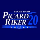 Picard Riker -Election tee
