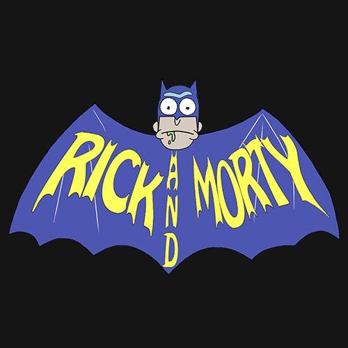 Rick and Morty - batman! t-shirt