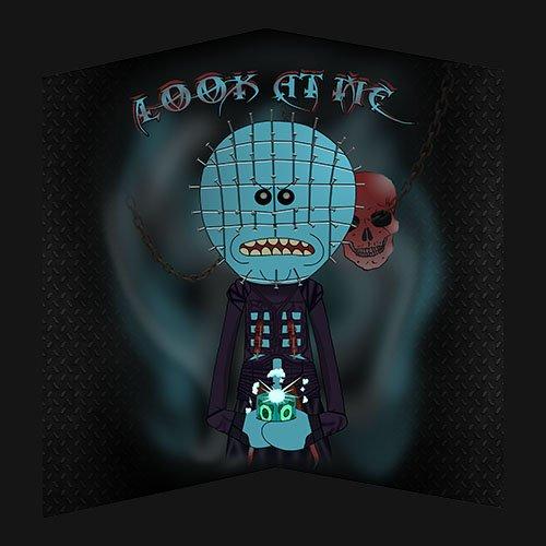 Rick and Morty - HELLRAISER!!! t-shirt- www.shirtdorks.com