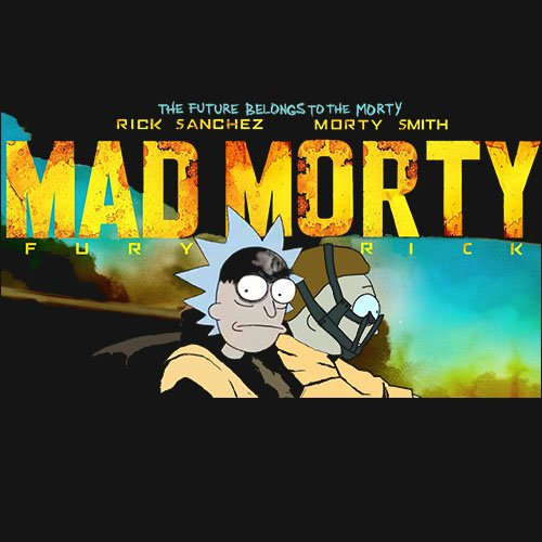 MAD MORTY!!! - www.shirtdorks.com