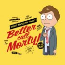 Rick and Morty -BETTER CALL MORTY!! T-Shirt - www.shirtdorks.com