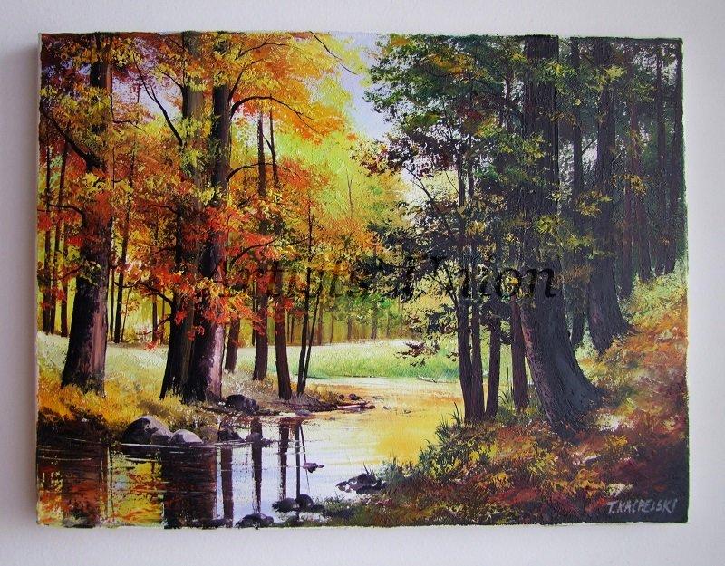 Autumn Original Oil Pa...