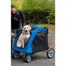 X-LARGE DOG STROLLER CARRIAGE JOGGER HOLDS UP TO 150 LBS FOLDS FLAT pet supplies