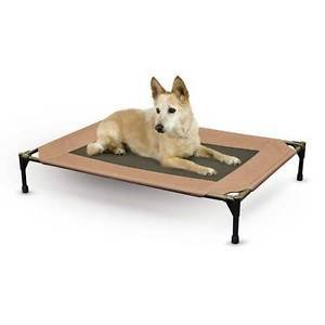 X-LARGE DOG COT OUTDOOR MESH BOTTOM PET COT BED FOR DOGS UP TO 150 LBS SHIPS USA