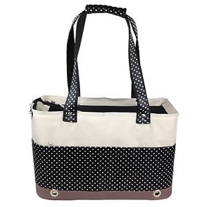DOG CARRIER PET DOG CAT CARRIER PETS UP TO 19 LBS LIGHT PET LIFE FASHION TOTE