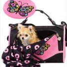 "DOG CARRIER PET CARRIER AIRLINE APPROVED PETS UP TO 10 LBS PET FLYS 16"" LONG"