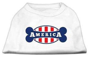 DOG SHIRT yorkie chihuahua toy maltese AMERICA DOG TANK SHIRT clothes USA MADE