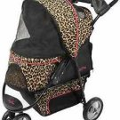DOG STROLLER CARRIAGE carrier CHEETAH PROMENADE PETS UP TO 50 LBS SHIPS FROM USA