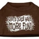DOG SHIRT boxer lab pointer collie pit bull DIRTY DOG TANK SHIRT clothe USA MADE