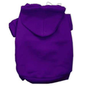 XS DOG SWEAT SHIRT chihuahua teacup yorkie VIOLET DOG HOODIE clothe MADE IN USA