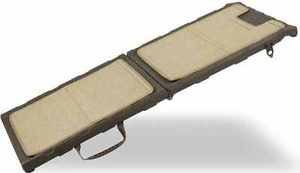 DOG RAMP INDOOR CARPETED PET RAMP steps stairs HOLDS UP TO 200 LB SHIPS FROM USA