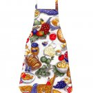 Full Length Adult Apron - Picnic Basket Goodies