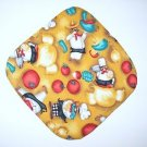 "8"" Hot Pot Pad/Pot Holder - THREE CHEFS - All Handmade"