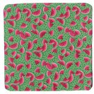 "8"" Hot Pot Pad/Pot Holder - WATERMELON SLICES ON GREEN"
