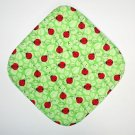 "8"" Hot Pot Pad/Pot Holder - LADYBUGS ON GREEN"