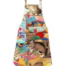 ** NEW DESIGN ** Child Size Apron - CURIOUS KITTENS - All Handmade