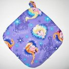 "***NEW DESIGN***8"" Hot Pot Pad/Pot Holder with Hanger - FROZEN - SISTERS FOREVER"
