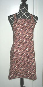 *** NEW ITEM ***Full Size Adult Apron - BROWNIES - All Handmade